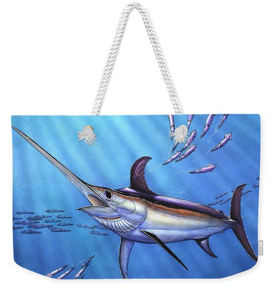 Swordfish In Freedom Weekender Tote Bag