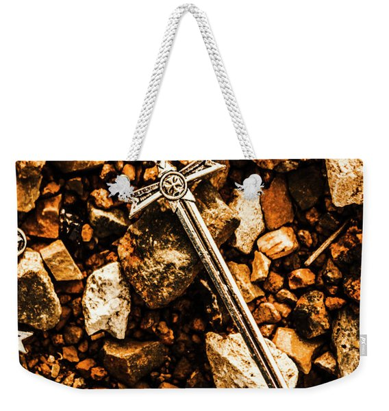 Swords And Legends Weekender Tote Bag