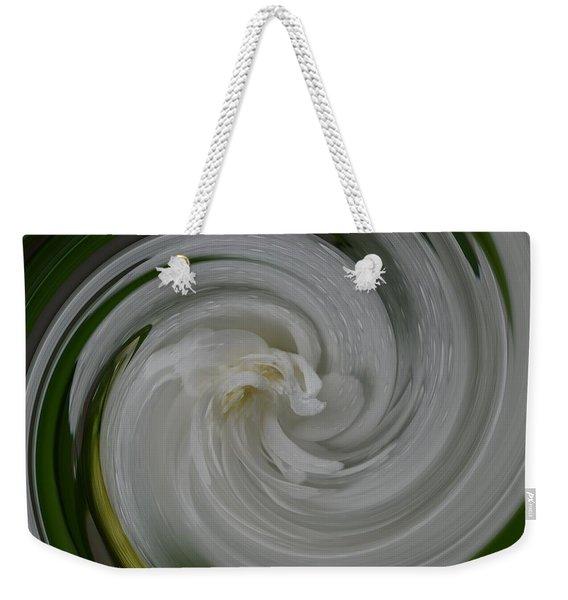 Swrling Rose Weekender Tote Bag