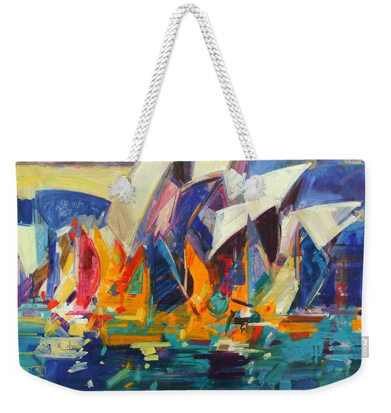 Sydney Flying Colours Weekender Tote Bag