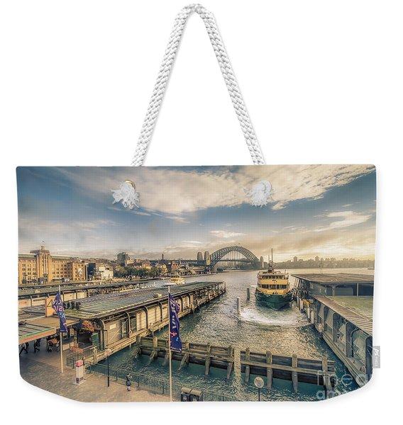 Sydney Harbor I Weekender Tote Bag