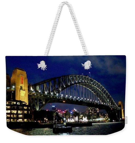 Sydney Harbour Bridge Weekender Tote Bag