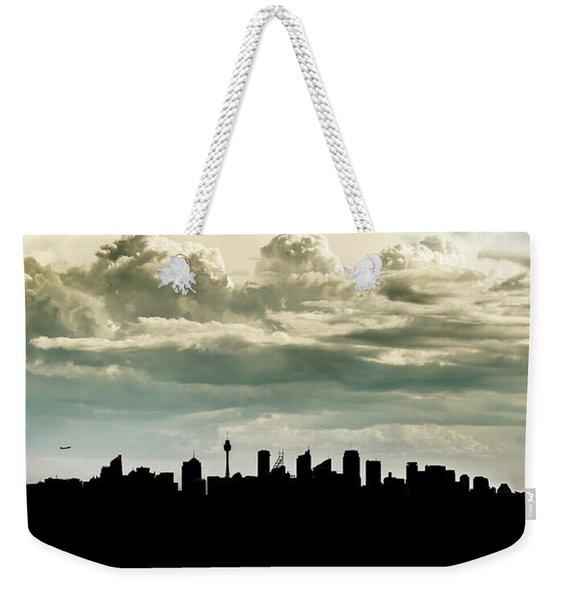 Sydney Skyline Weekender Tote Bag