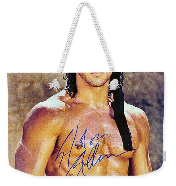 Sylvester Stallone Weekender Tote Bag