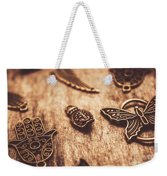 Symbols Of Zen Weekender Tote Bag