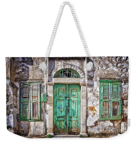 Symi Weekender Tote Bag