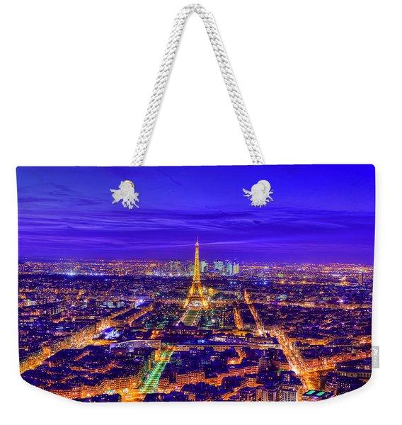 Symphony In Blue Weekender Tote Bag