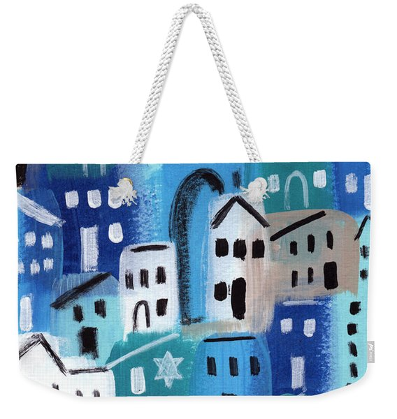 Synagogue- City Stories Weekender Tote Bag