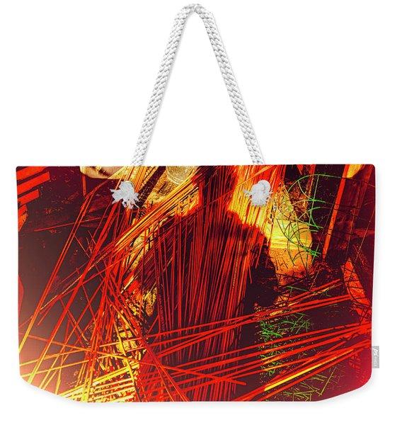 Synesthesia Weekender Tote Bag