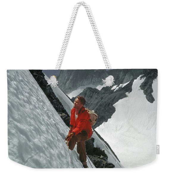 T-202707 Eric Bjornstad On Howser Peak Weekender Tote Bag