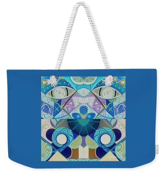 T J O D Tile Variation 3 Inverted Weekender Tote Bag
