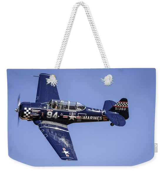 T6 At Reno Air Races Weekender Tote Bag