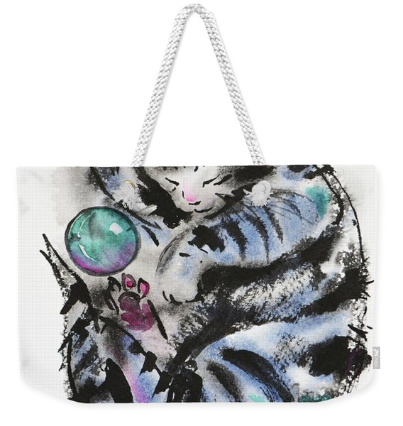 Tabby Dreams Weekender Tote Bag