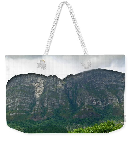 Table Mountain South Africa Weekender Tote Bag