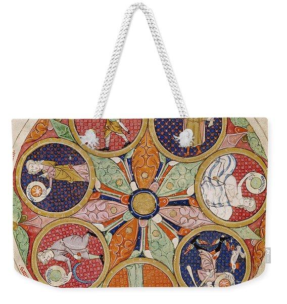 Table Of Planets Weekender Tote Bag