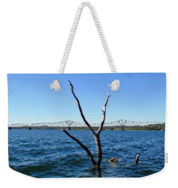 Table Rock Lake Kimberling City Weekender Tote Bag