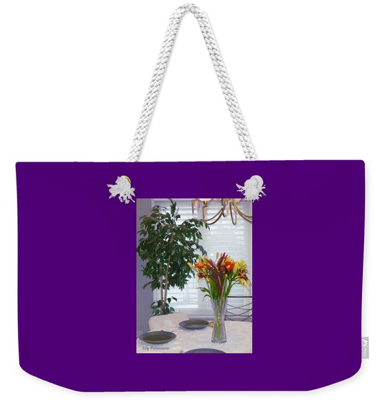 Tabletop Weekender Tote Bag