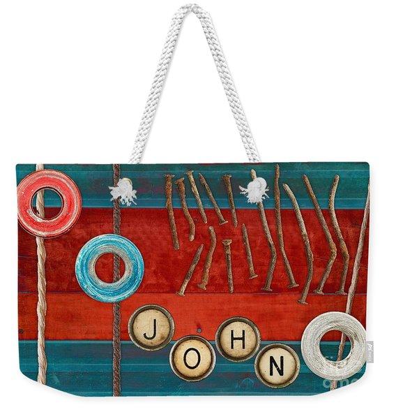 Tablo - 01b - John Weekender Tote Bag