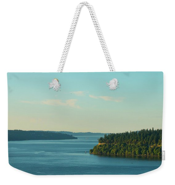 Tacoma Narrows And Commencement Bay II Weekender Tote Bag