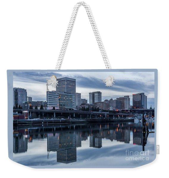 Tacoma Waterfront,washington Weekender Tote Bag