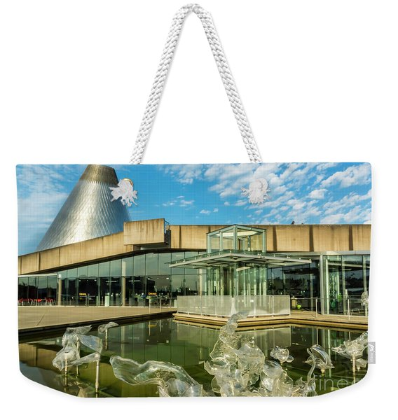 Tacoma's Museum Of Glass  Weekender Tote Bag