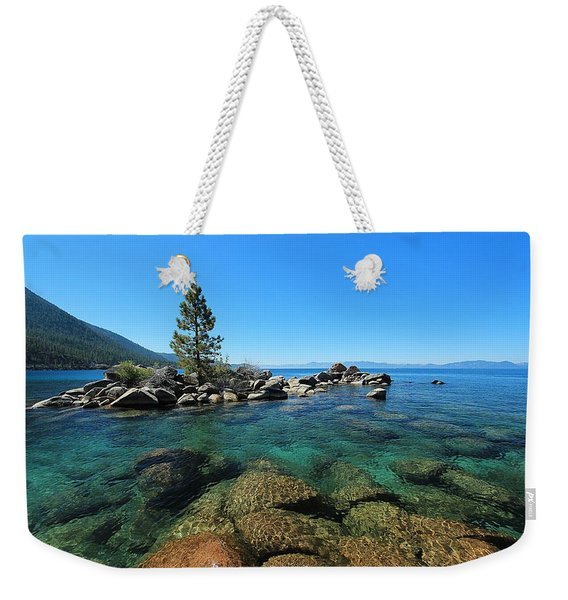 Tahoe Northern Island  Weekender Tote Bag