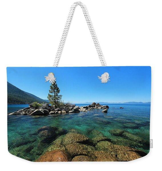 Tahoe Northern Island  Weekender Tote Bag