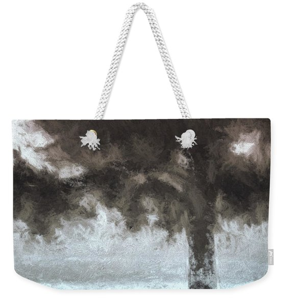Tahoe Pine Painterly Effect Weekender Tote Bag
