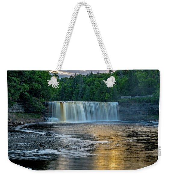 Tahquamenon Falls Weekender Tote Bag