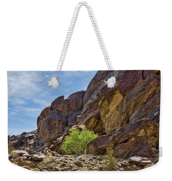 Tahquitz Canyon Rocks Weekender Tote Bag