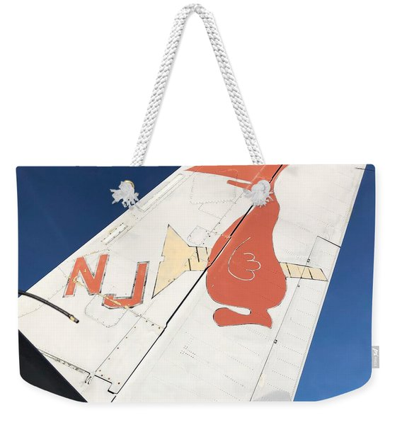 Tail Weekender Tote Bag