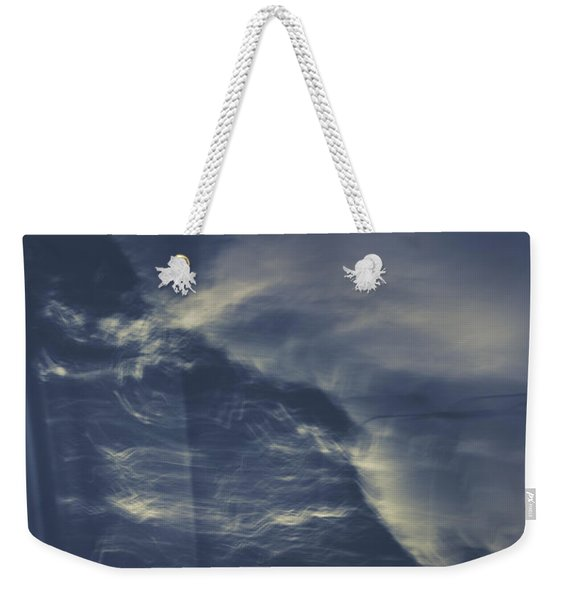Tailing Car Trails Weekender Tote Bag