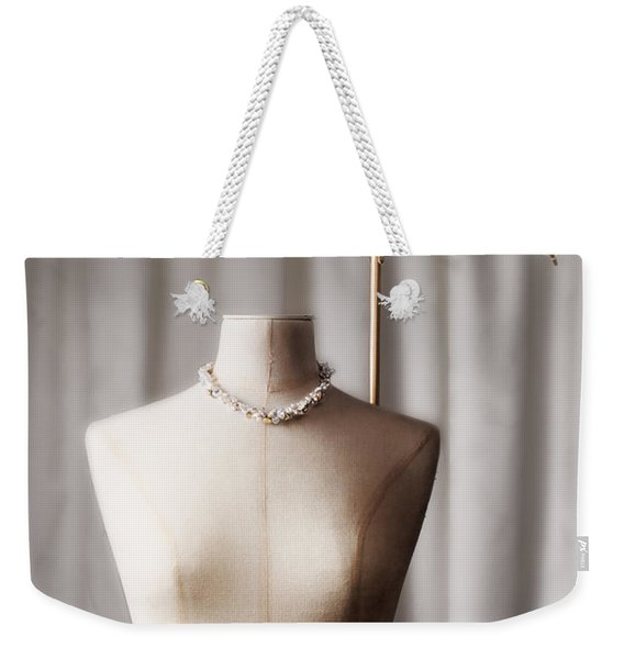 Tailors Dummy With Parasol Weekender Tote Bag