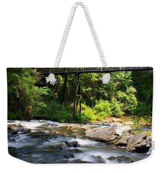 Tails Creek Weekender Tote Bag