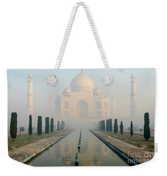 Taj Mahal At Sunrise 02 Weekender Tote Bag