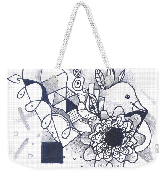 Take A Chance Weekender Tote Bag