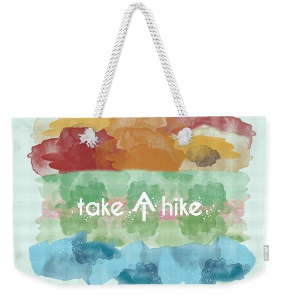 Take A Hike Appalachian Trail Weekender Tote Bag