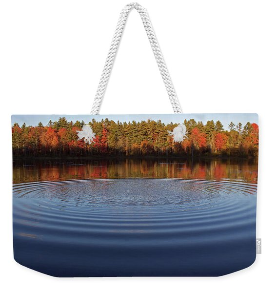 Take A Pebble Weekender Tote Bag