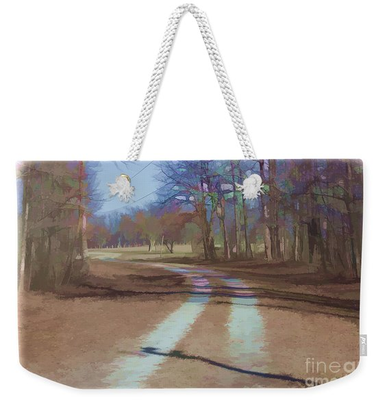 Take Me Home Country Road Weekender Tote Bag