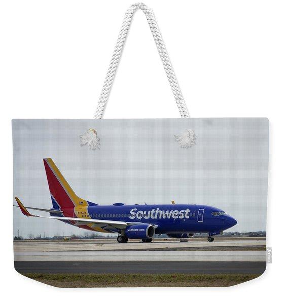 Take Off Southwest Airlines N7878a Hartsfield-jackson Atlanta International Airport Art Weekender Tote Bag