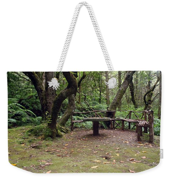 Take Sit And Rest Weekender Tote Bag