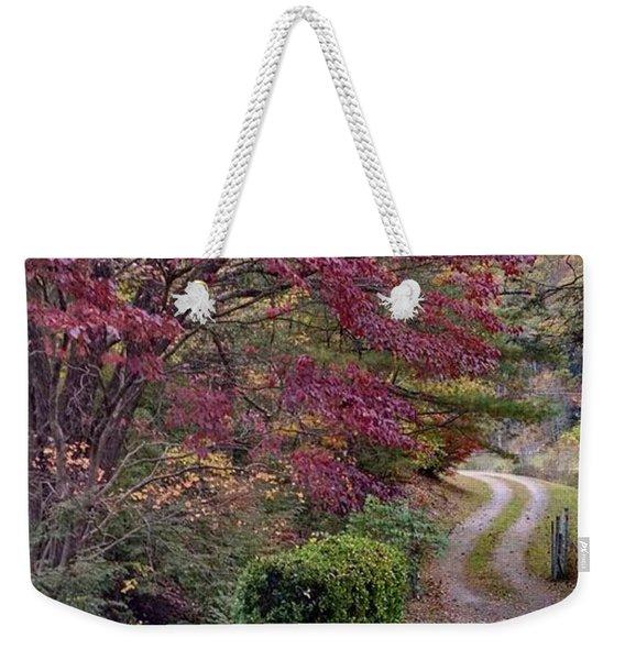 Take The Good Path Weekender Tote Bag