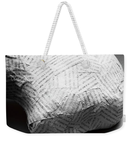 Taken Out Of Context Weekender Tote Bag