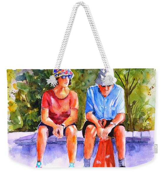 Taking A Rest - 2 Weekender Tote Bag