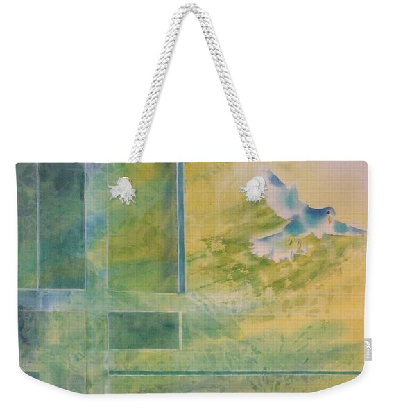 Taking Flight To The Light Weekender Tote Bag