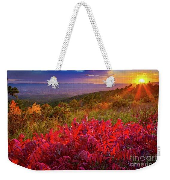 Talimena Evening Weekender Tote Bag