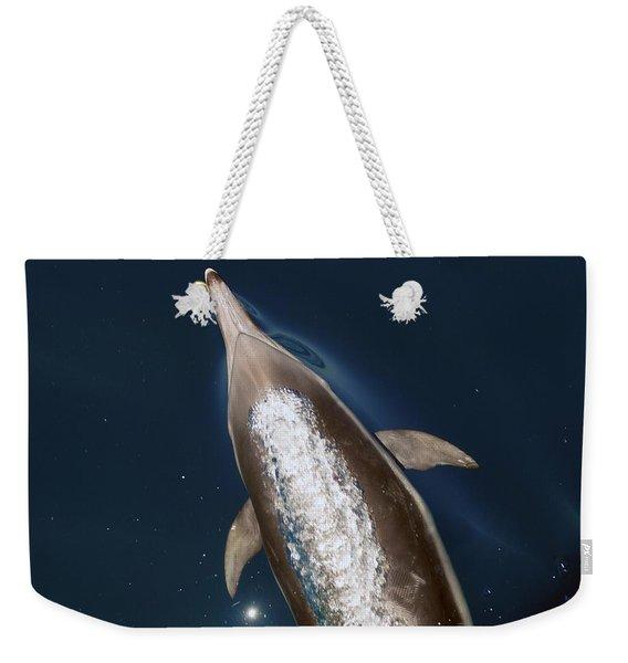 talking Back Weekender Tote Bag