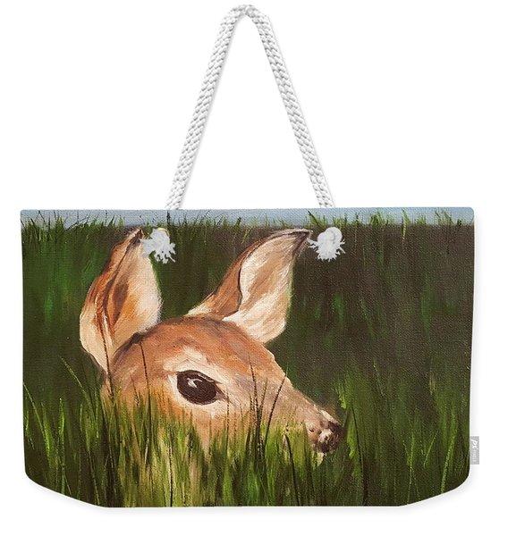 Tall Grass    #63 Weekender Tote Bag
