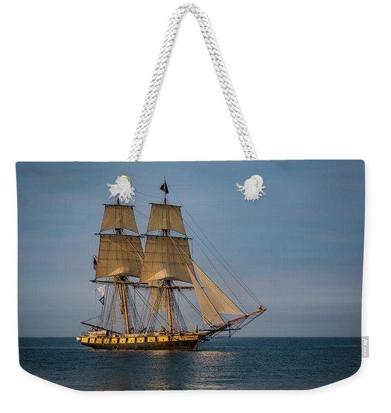 Tall Ship U.s. Brig Niagara Weekender Tote Bag
