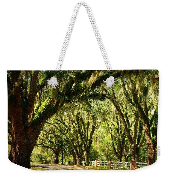 Tallahassee Canopy Road Weekender Tote Bag
